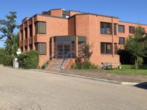 Praxisgebäude der Hebammenpraxis Swanhild Pierobon in Schwäbisch Hall